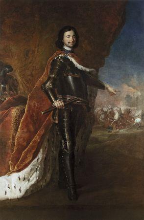 Antoine Peng, Portrait of Peter I, Tsar of Russia
