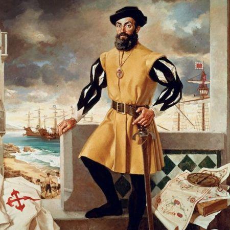 Antonio Menendez, Portrait of Magellan (2)