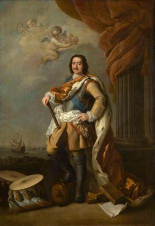 Jacopo Amikoni, Portrait of Peter I, Tsar of Russia