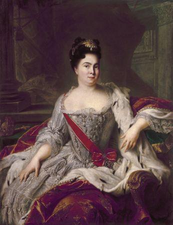 Jean Marc Nattier, Catherine I of Russia