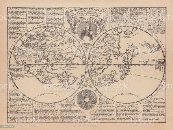 Martin Behaim Dünya haritası (1)