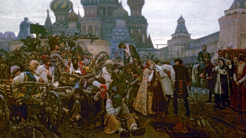 Vasily Surikov, Morning of the Streltsy Execution, 1881