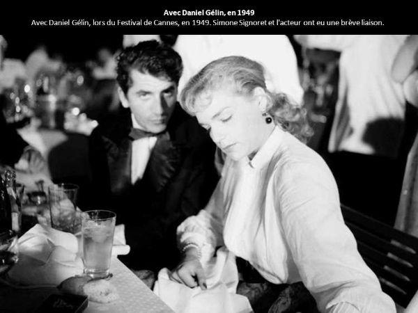 Daniel Gélin ve Simone Signoret