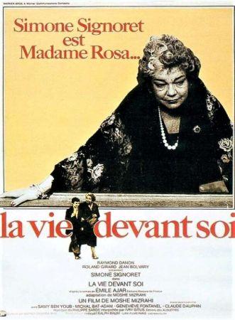 Simone Signoret ve Film Afişi