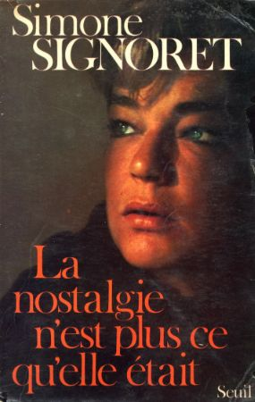 Simone Signoret ve Kitabı