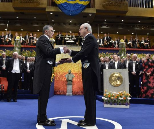 Aziz Sancar Nobel Töreni