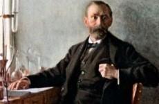 Emil Österman, Portrait of Alfred Nobel (1)