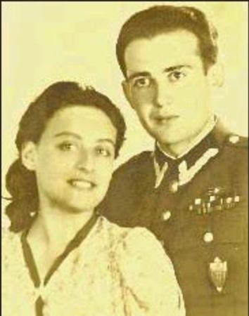 Karısı Janine ile