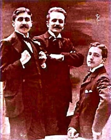 Marcel Proust, Robert de Flers, Lucien Daudet