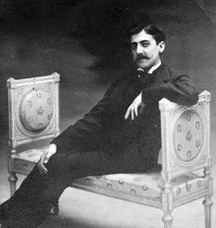 Marcel Proust koltukta