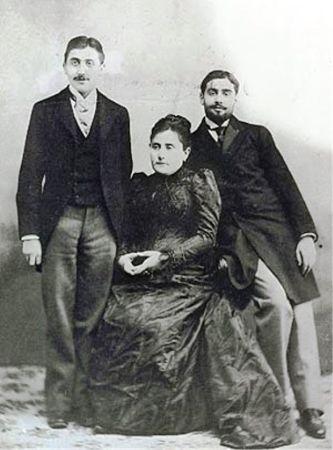 Proust annesi ve kardeşi