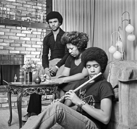 Toni Morrison ve 2 Oğlu