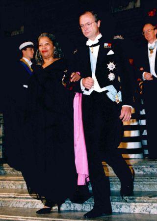 Toni Morrison ve Nobel Töreni