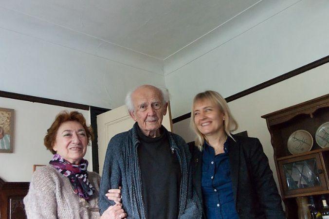 Zygmunt Bauman Karısı ve Kızı