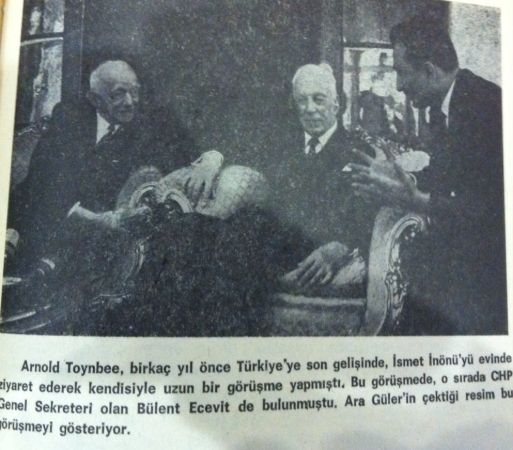 Arnold J. Toynbee ve İsmet İnönü