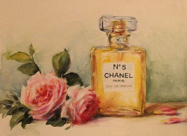 Caroline Elizabeth, Chanel Book with Old English Roses