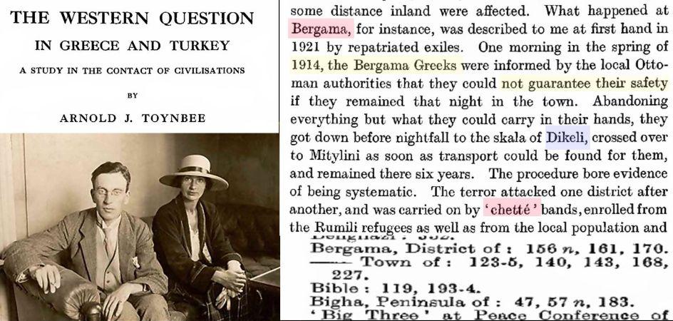 Eşi ile beraber 1919'da Türkiye Ziyareti