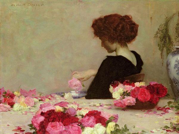 Herbert James Draper, Pot Pourri, 1897
