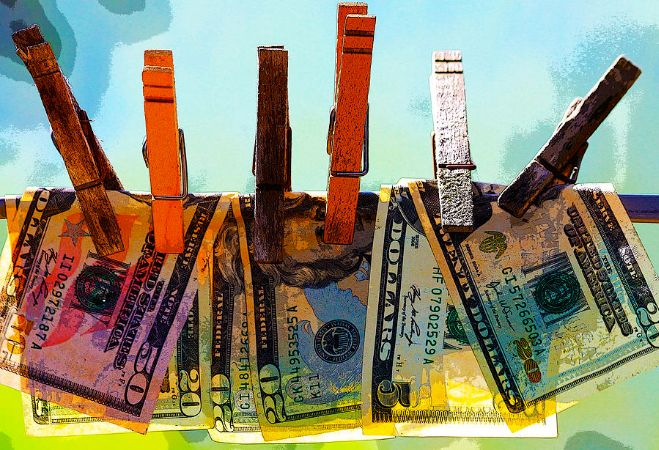 Karon Melilo Devega, Money Laundering