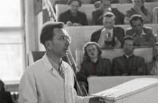Victor Frankl Ders Anlatırken (1)