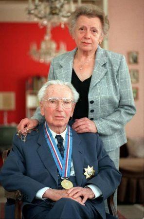 Victor Frankl ve Eşi (Yaşlı)