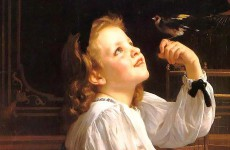 William-Adolphe Bouguereau, Dear Bird (1)