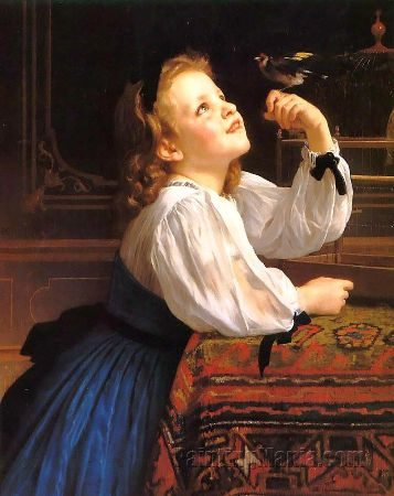 William-Adolphe Bouguereau, Dear Bird
