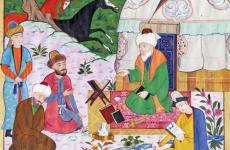 An illustration of Ahmad Yasawi, Ahmet Yesevi University (1)