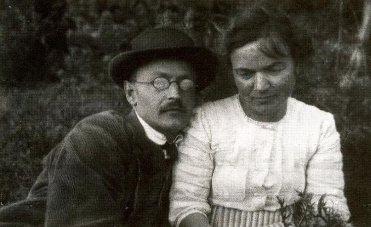 Herman Hesse, Mia Hesse-Bernoulli