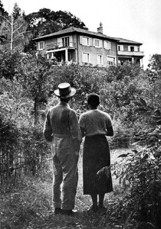 Herman Hesse, Ninon Ausländer, Casa Hossa, 1931