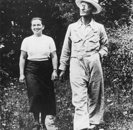 Herman Hesse, Ninon Hesse (Ausländer) 1952