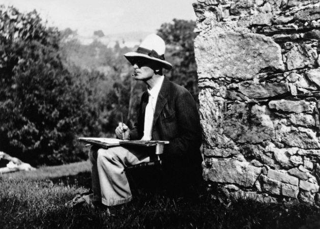 Herman Hesse Resim Yaparken
