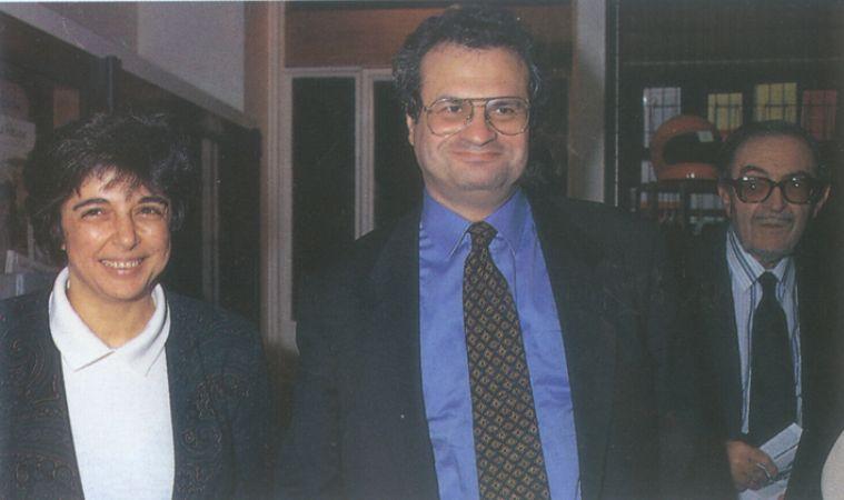 Amin Maalouf Ve eşi