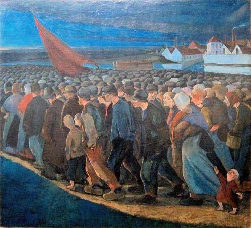 Eugène Laermans, Un Soir de Grève