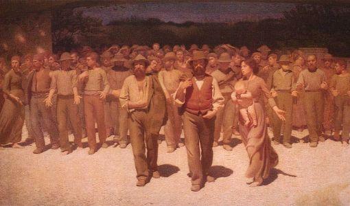 Giuseppe Pellizza da Volpedo, Il Quarto Stato, (1)