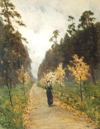 Isaak Levitan, Autumn Day, Tretyakov Gallery, Moskova