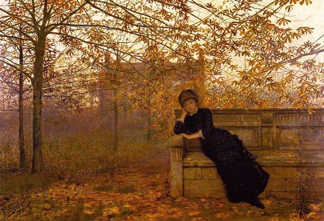 John Atkinson Grimshaw, Autumn Regrets,