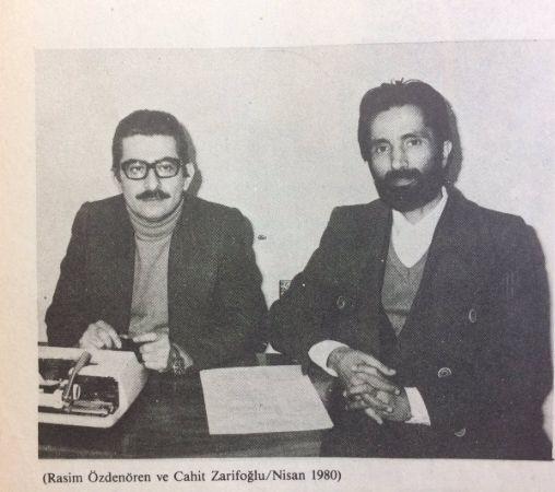 Rasim Özdenören, Cahit Zarifoğlu