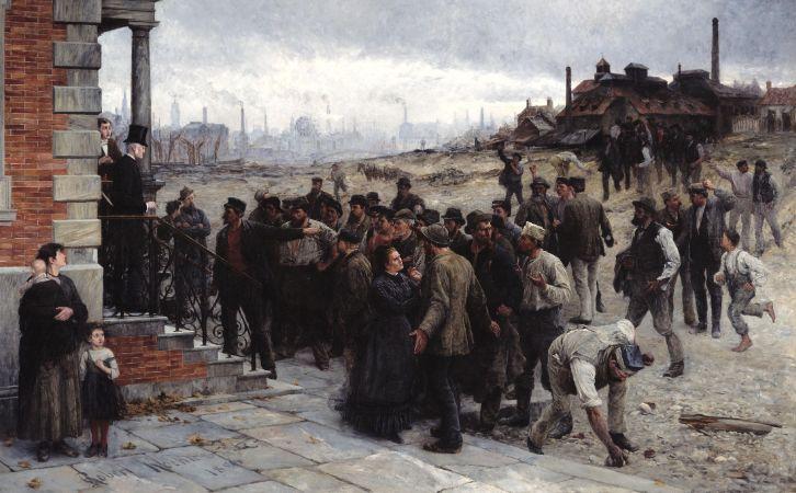 Robert Koehler, The Strike In The Region of Charleroi,