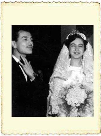Betül Mardin ve İlk eşi