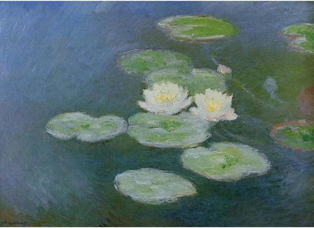 Claude Monet, Water Lilies,