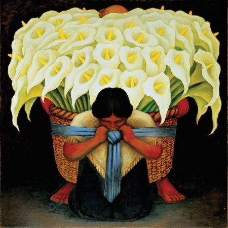 Diego Rivera, The Flower Seller, 1942