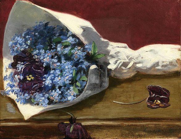 Eva Gonzalès, Bouquet of Flowers,