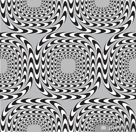 Hareket eden spiral desenler