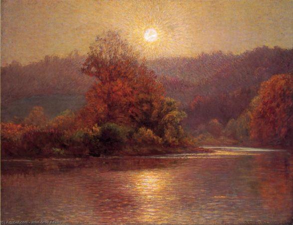 John Ottis Adams, The Closing of an Autumn Day, 1901
