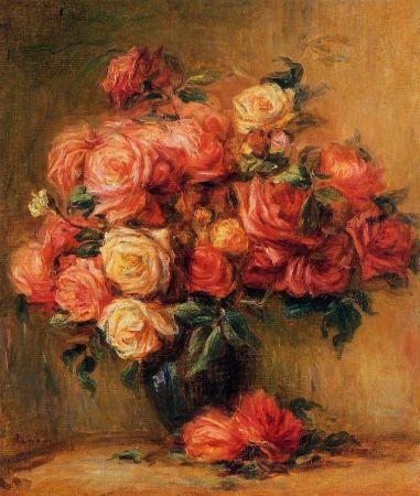 Pierre-Auguste Renoir, Bouquet of Roses,