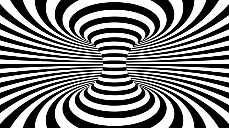 Siyah-Beyaz Optik İllüzyon