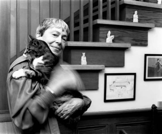 Ursula K. Le Guin ve Kedisi