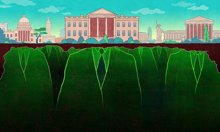 Antoıne Doré Illustratıon, America's Deep State