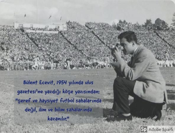 Bület Ecevit, 1954